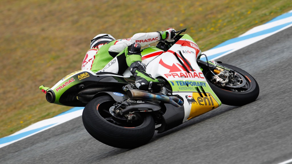 Hector Barbera, Pramac Racing Team, Jerez FP2