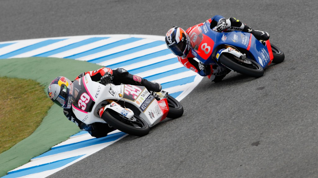 Jack Miller, Luis Salom, Caretta Technology, RW Racing GP, Jerez FP1