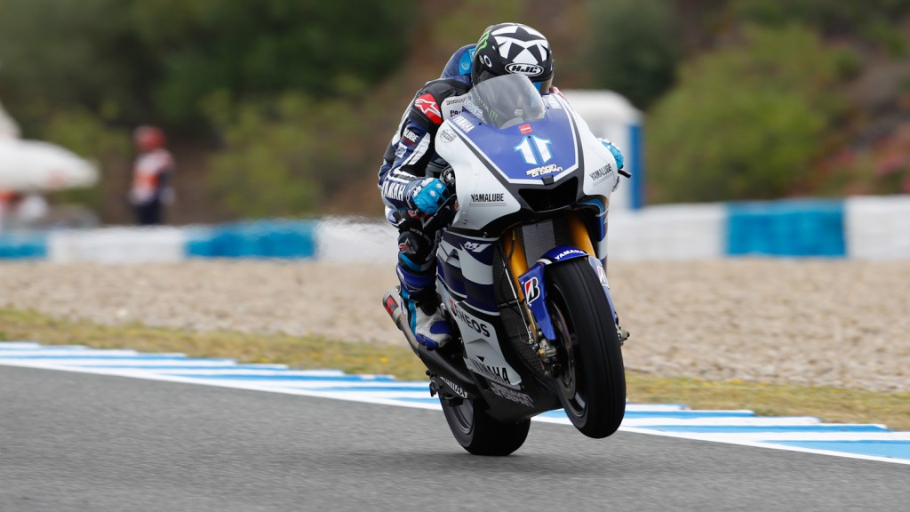 Ben Spies, Yamaha Factory Racing, Jerez FP2