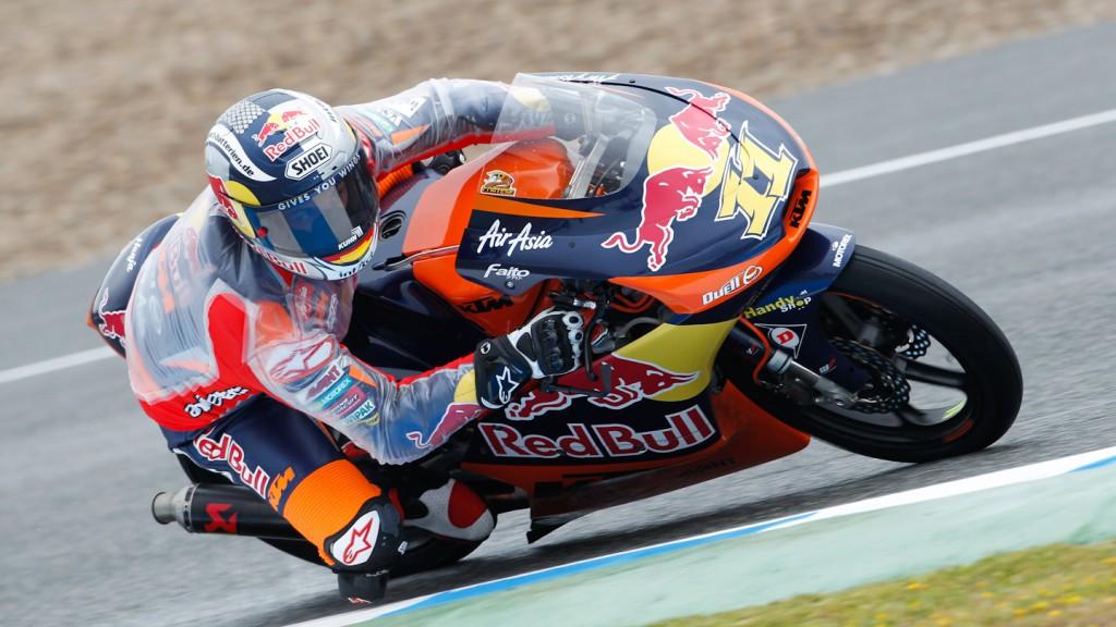 Sandro Cortese, Red Bull KTM Ajo, Jerez FP2