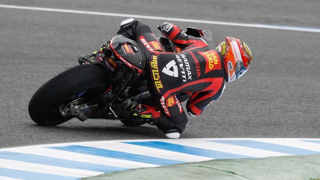 Alvaro Bautista, San Carlo Honda Gresini, Jerez FP1