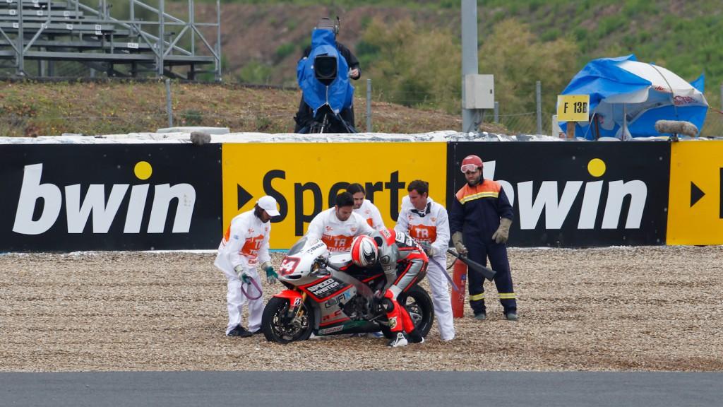 Mattia Pasini, Speed Master, Jerez FP2