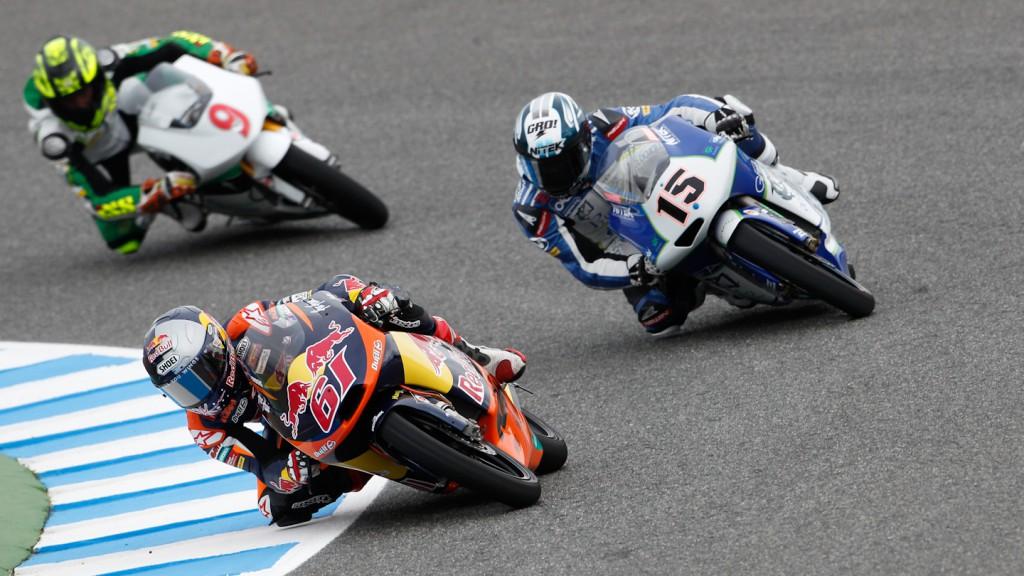 Arthur Sissis, Simone Grotzkyj, Red Bull KTM Ajo, Ambrogio Next Racing, Jerez FP1