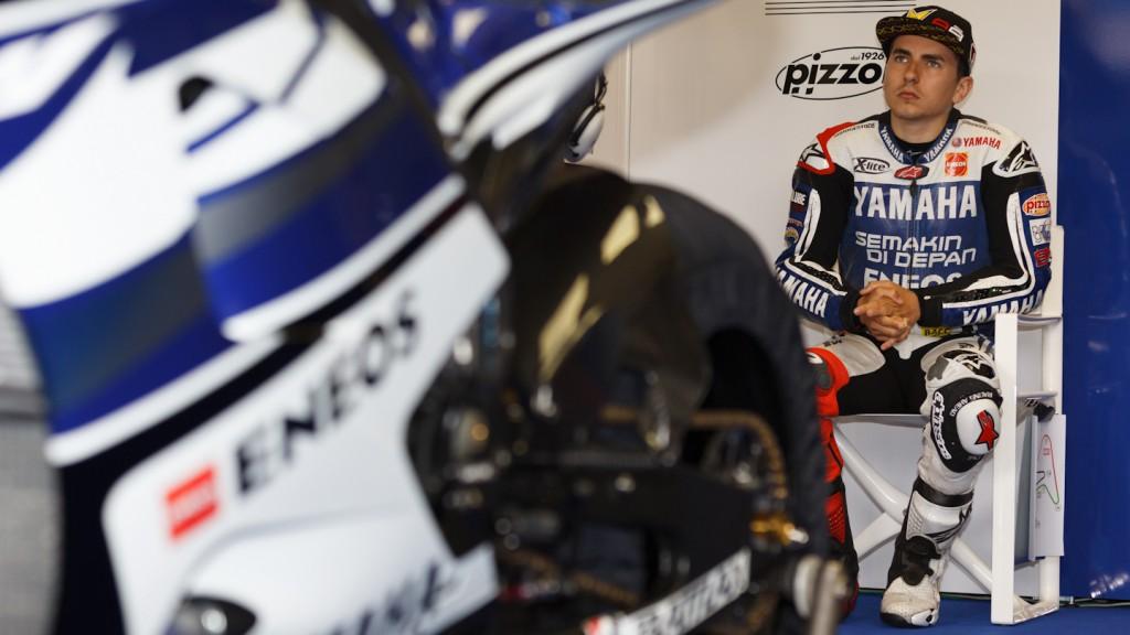 Jorge Lorenzo, Yamaha Factory Racing, Jerez FP1