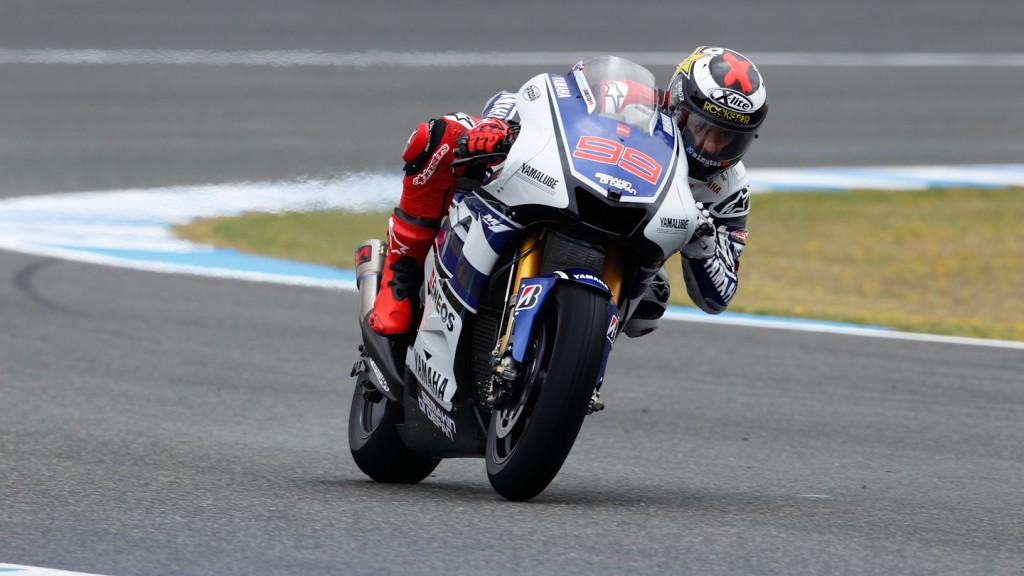 Jorge Lorenzo, Yamaha Factory Racing, Jerez, FP2