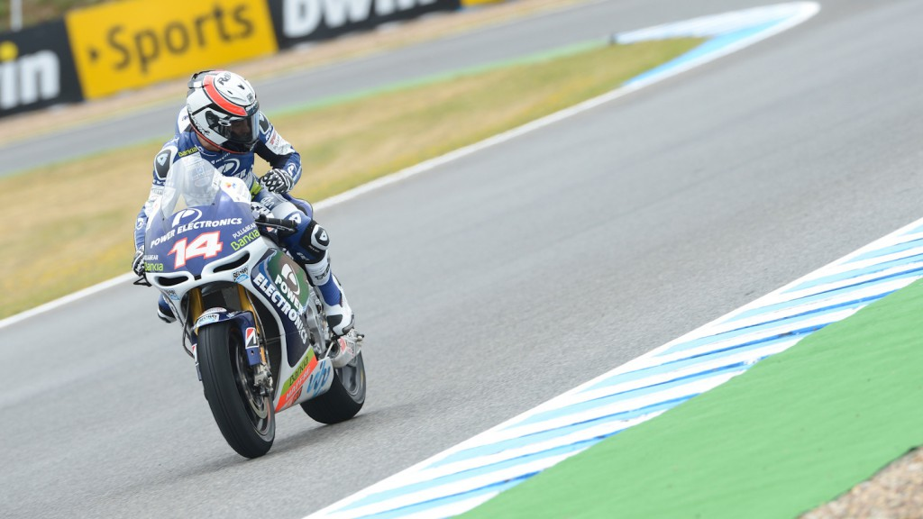 Randy de Puniet, Power Electronics Aspar, Jerez FP2