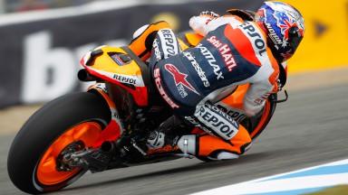 Casey Stoner, Repsol Honda Team, Jerez QP
