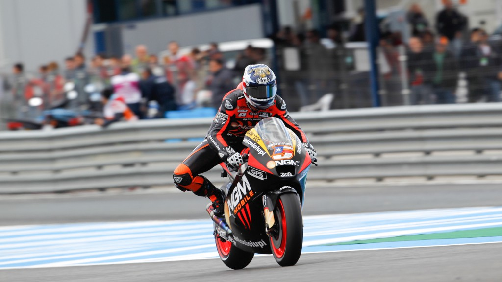 Colin Edwards, NGM Mobile Forward Racing, Jerez QP