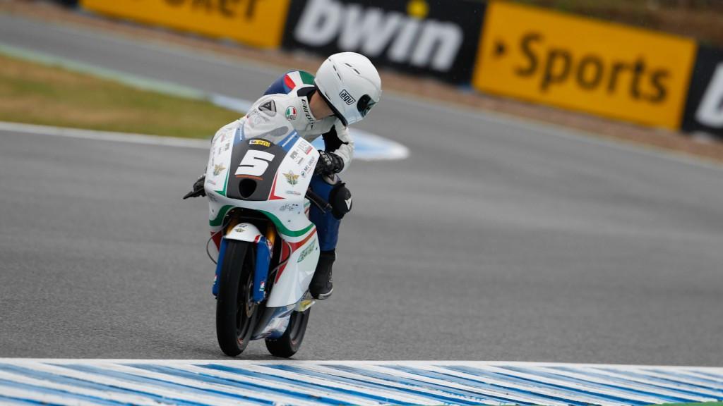 Romano Fenati, Team Italia FMI, Jerez FP3