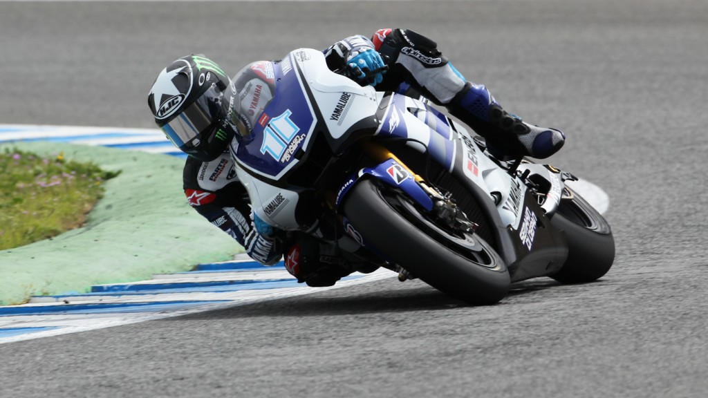 Ben Spies, Yamaha Factory Racing, Jerez QP