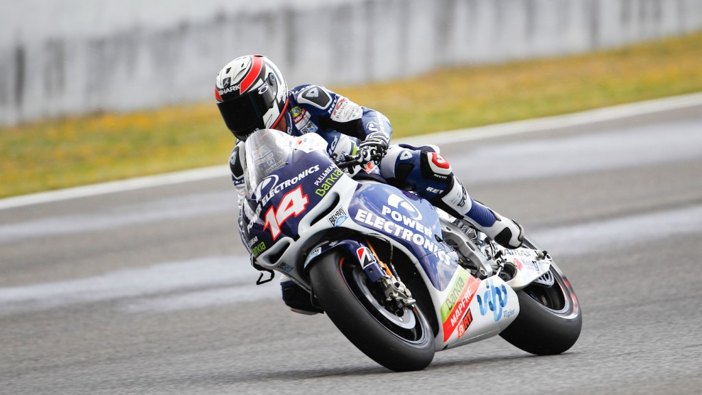 Randy de Puniet, Power Electronics Aspar, Jerez QP