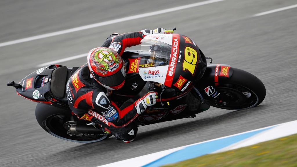 Alvaro Bautista, San Carlo Honda Gresini, Jerez QP