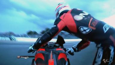 Jerez 2012 - MotoGP - QP - Action - Colin Edwards - Crash