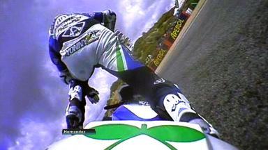 Jerez 2012 - MotoGP - QP - Action - Yonny Hernandez - Crash