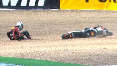 Jerez 2012 - MotoGP - QP - Action - Michele Pirro - Crash