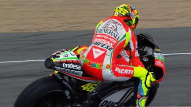 Jerez 2012 - MotoGP - QP - Action - Valentino Rossi
