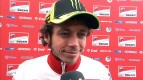 Rossi hoping for wet race