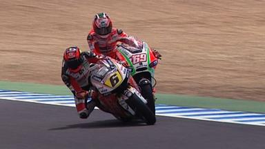 Jerez 2012 - MotoGP - QP - Action - Hayden and Bradl