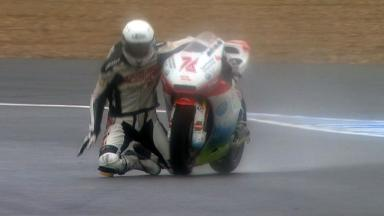 Jerez 2012 - Moto2 - FP3 - Action - Max Neukirchner - Crash