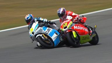 Jerez 2012 - Moto2 - QP - Action - Terol and Corsi