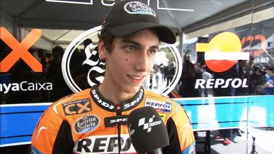 Rins  overjoyed after first ever pole