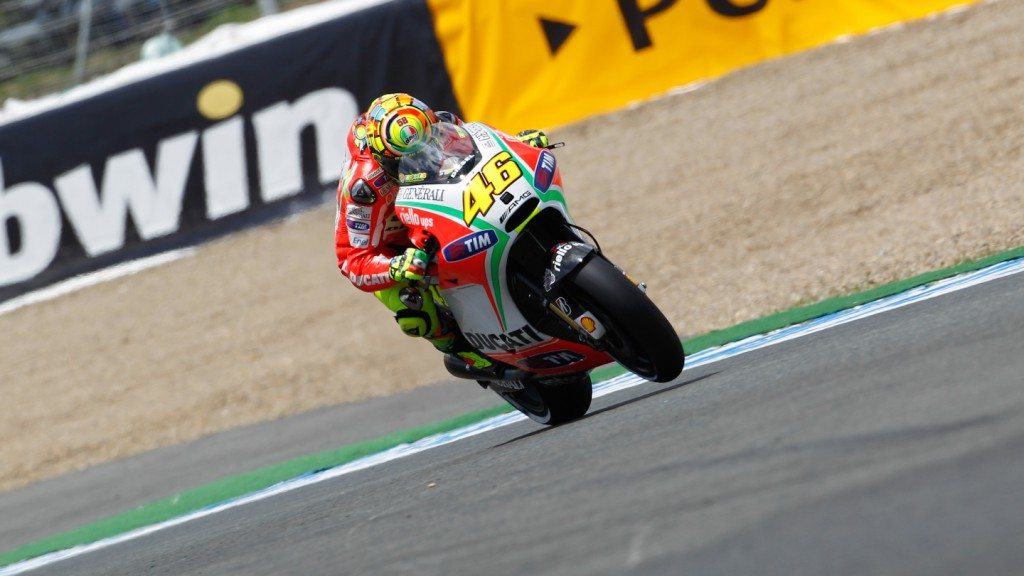 Valentino Rossi, Ducati Team, Jerez QP