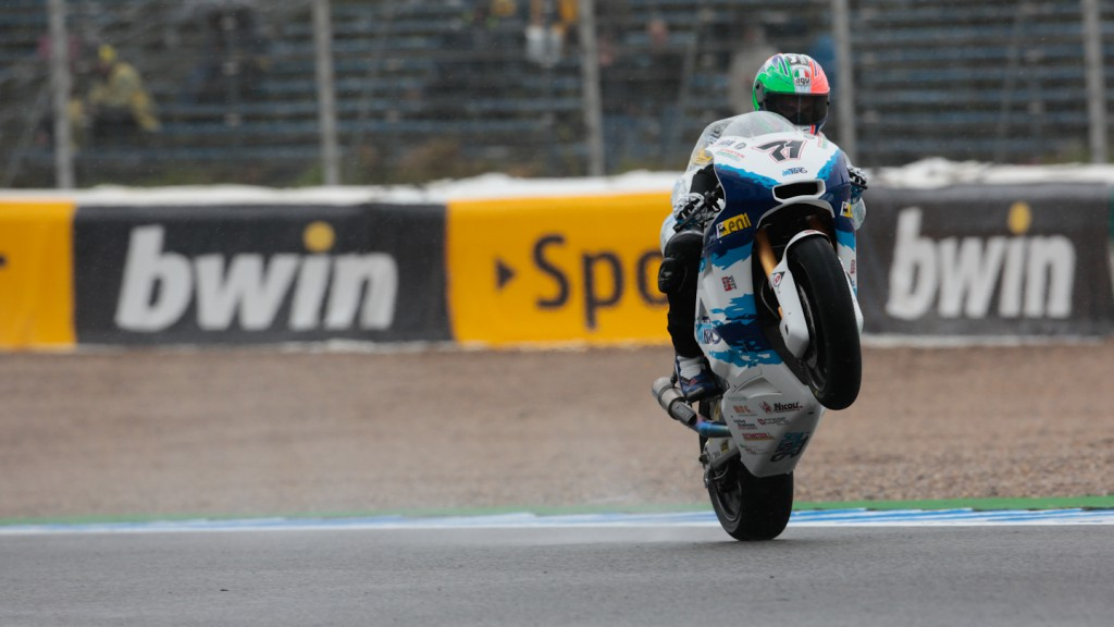 Claudio Corti, Italtrans Racing Team, Jerez FP3
