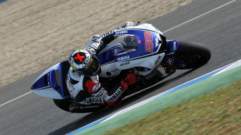Jorge Lorenzo, Yamaha Factory Racing, Jerez QP