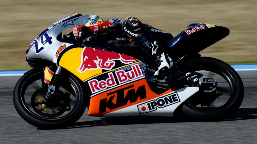 Marcos Ramirez-Red Bull Rookies cup