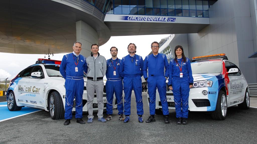 MotoGP Medical Intervention Vehicles