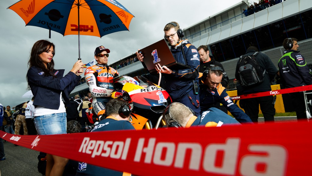 Casey Stoner, Repsol Honda Team, Jerez RAC - © Copyright Alex Chailan & David Piolé