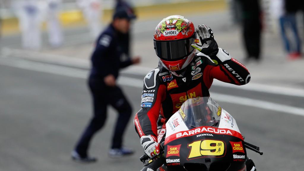 Alvaro Bautsita, San Carlo Honda Gresini, Jerez RAC
