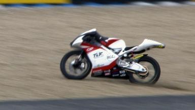 Jerez 2012 - Moto3 - Race - Action - Kenta Fujii - Crash