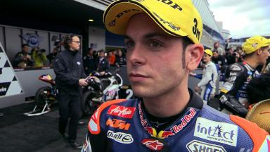 Jerez 2012 - Moto3 - Race - Interview - Sandro Cortese
