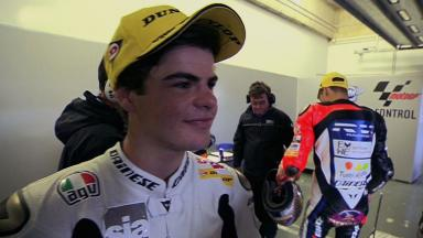 Jerez 2012 - Moto3 - Race - Interview - Romano Fenati