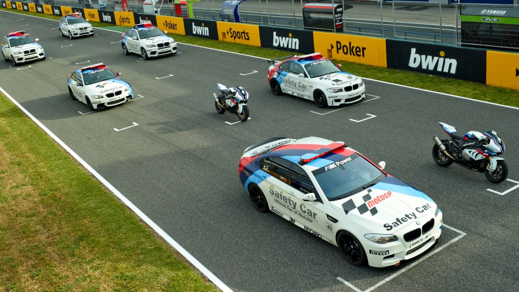 BMW M Safety Car Fleet