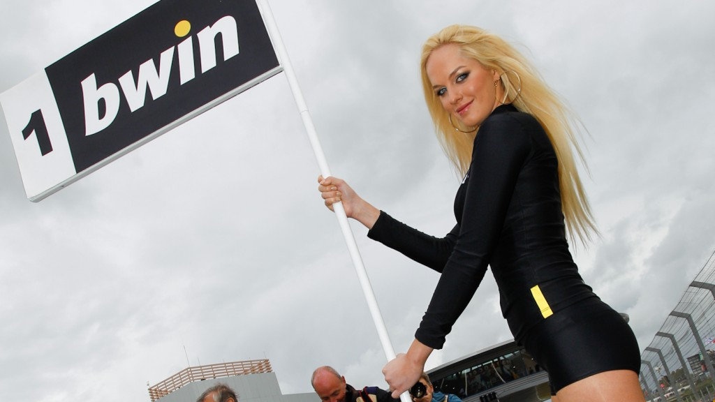 Paddock Girl Gran Premio bwin de España