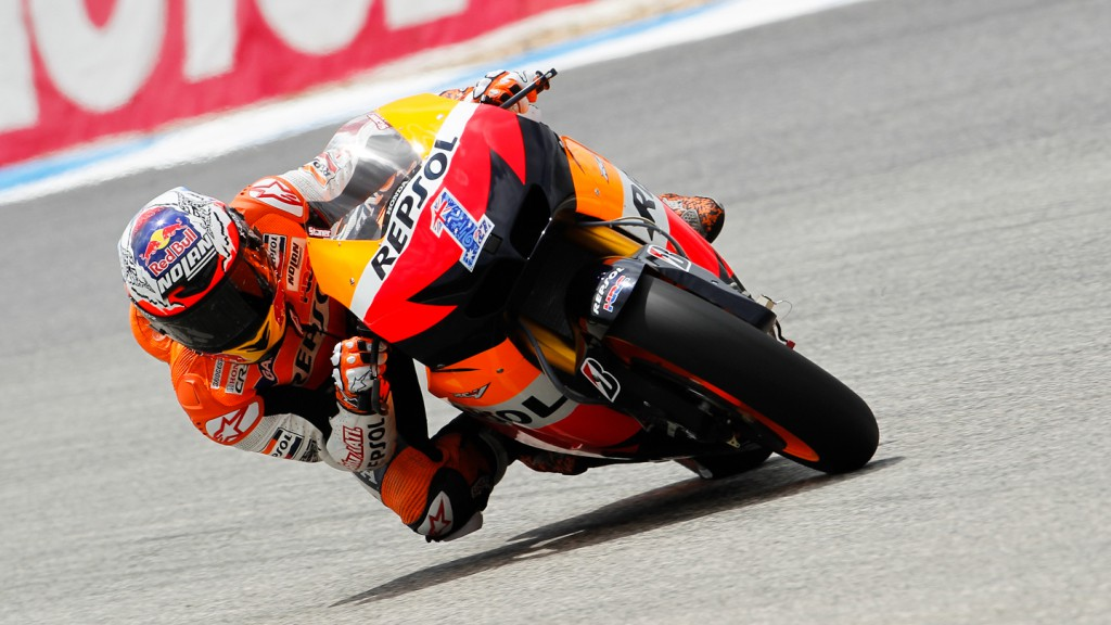 Casey Stoner, Repsol Honda Team, Estoril FP2