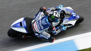 yamaha reviews first day at estoril