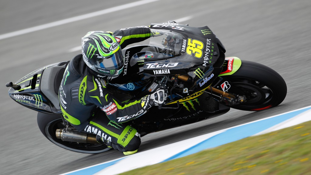 Cal Crutchlow, Monster Yamaha Tech 3, Estoril FP2