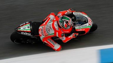 Nicky Hayden, Ducati Team, Estoril FP2