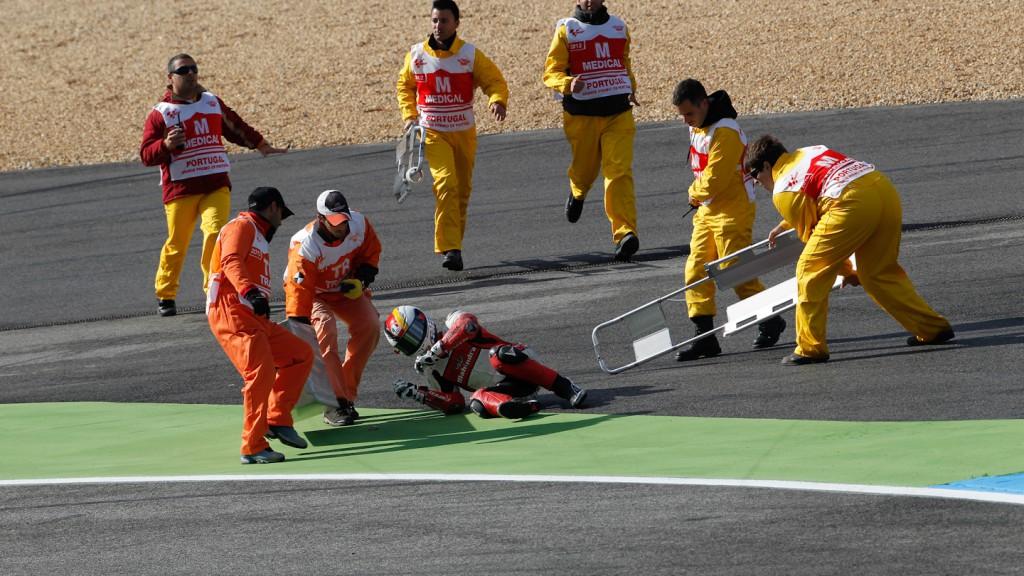 Marcel Schrotter, Mahindra Racing, Estoril FP1
