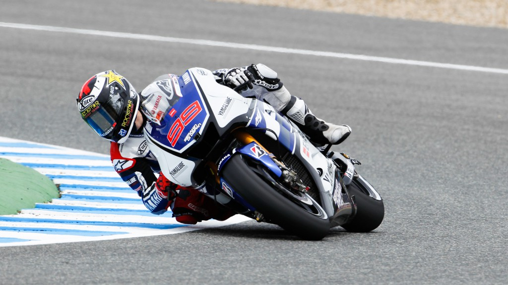 Jorge Lorenzo, Yamaha Factory Racing, Estoril FP2