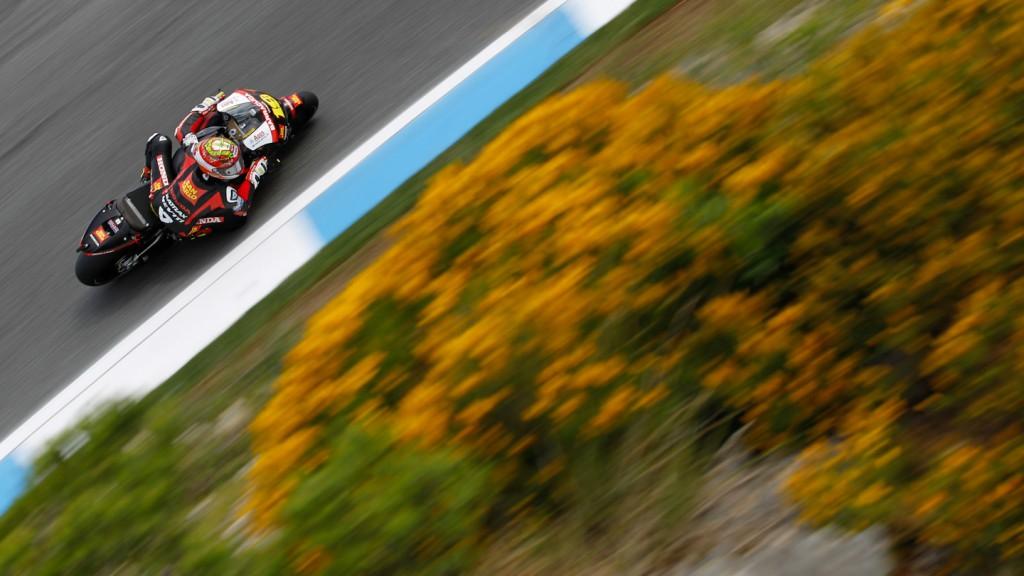 Alvaro Bautista, San Carlo Honda Gresini, Estoril FP2