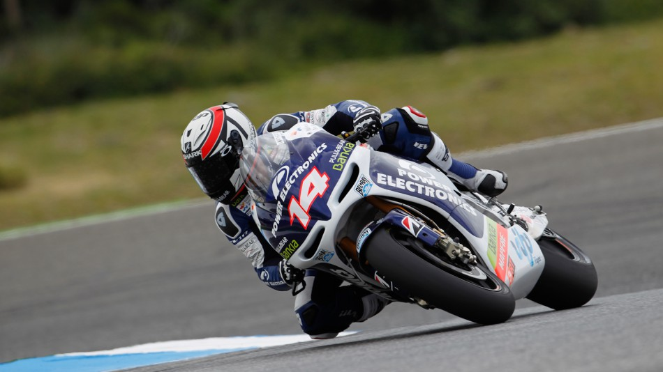 Randy de Puniet, Power Electronics Aspar, Estoril FP2