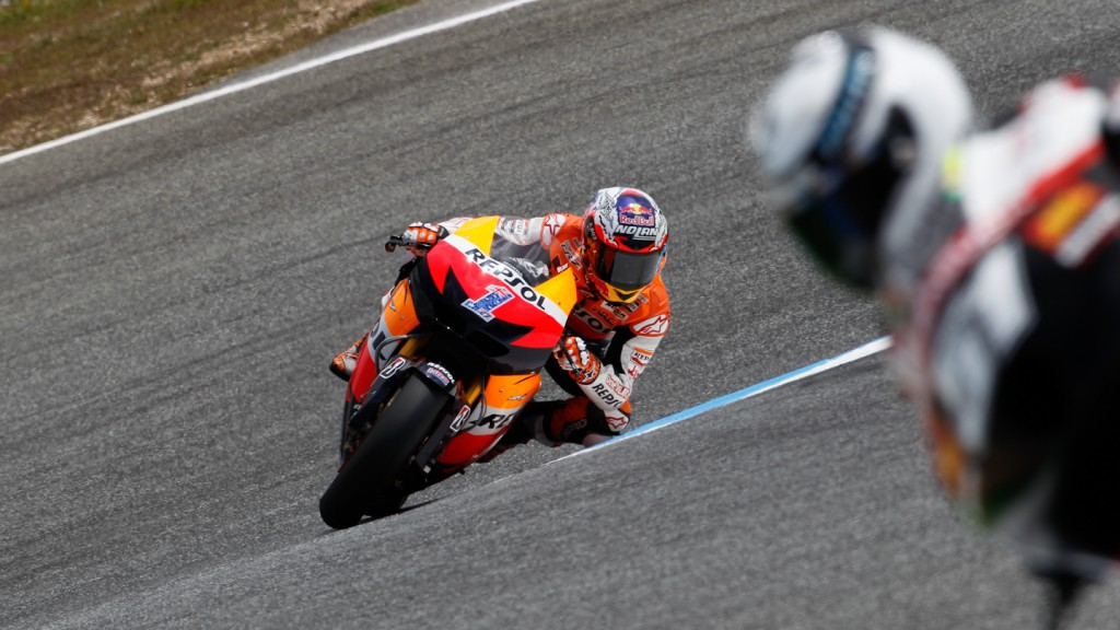 Casey Stoner, Repsol Honda Team, Estoril FP3
