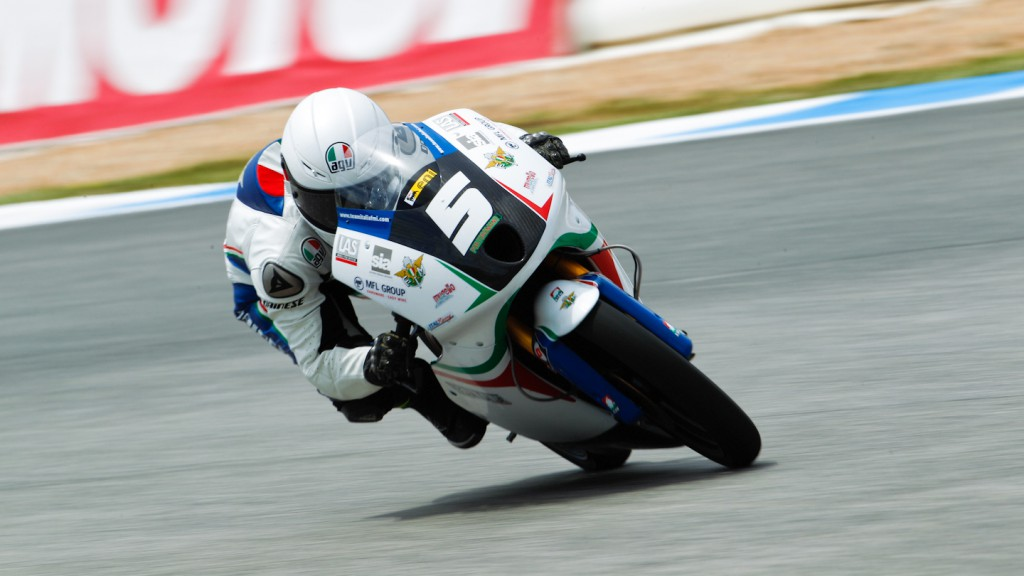 Romano Fenati, Team Italia FMI, Estoril FP2