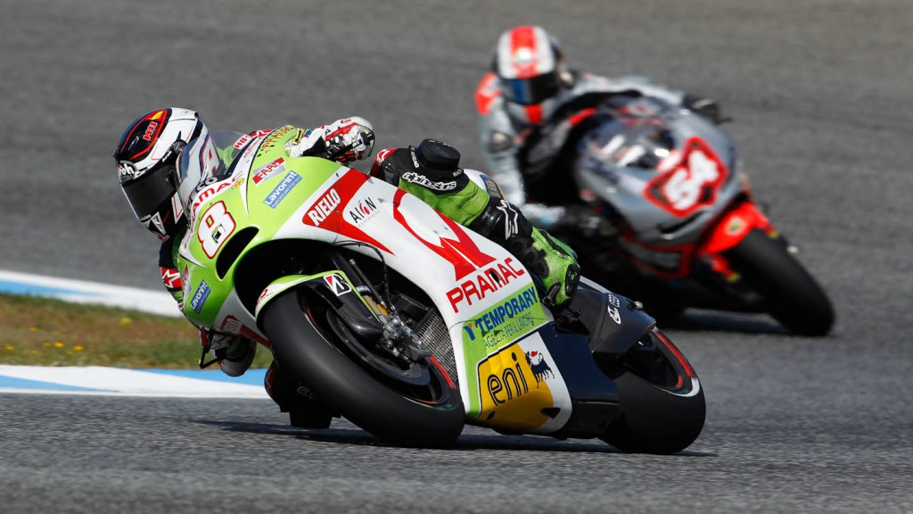 Hector Barbera, Pramac Racing Team, Estoril QP