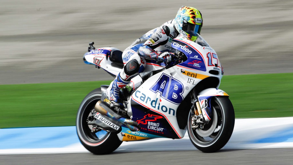 Karel Abraham, Cardion AB Motoracing, Estoril QP