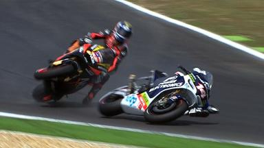 Estoril 2012 - MotoGP - QP - Action - Edwards and De Puniet - Crash